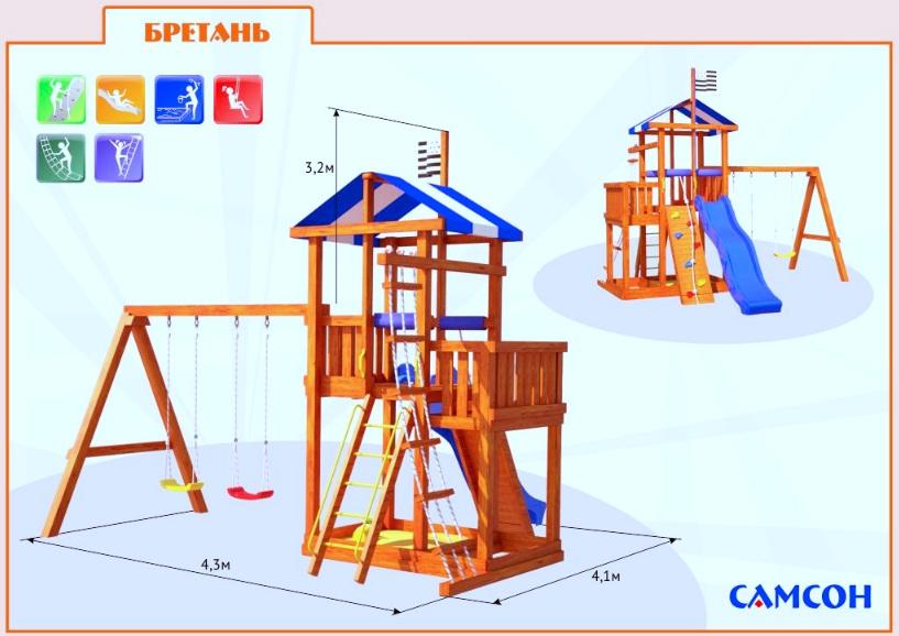 Детские игровые площадки своими руками для дачи чертежи